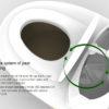 Dry toilet  900