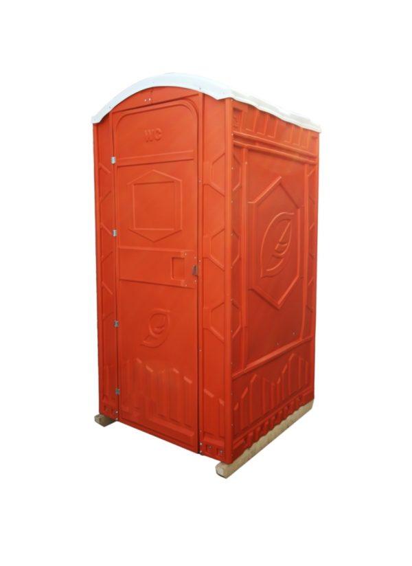 Toilettenkabinen Orange