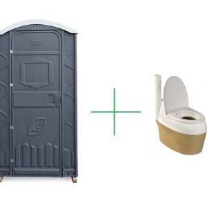 Туалетная кабина с сухим туалетом Piteco Standart