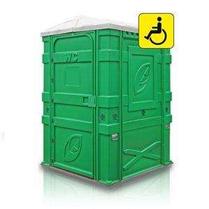 Туалетная кабина для людей с ограниченными возможностями MAX